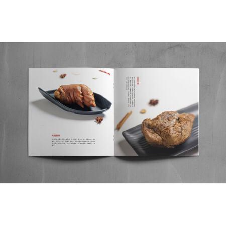 骑马钉画册-封面250g铜版内芯157g铜版 210*285