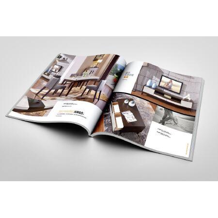 胶装画册-封面250g铜版内芯157g铜版 210*285