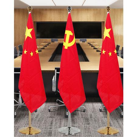 落地式党旗摆件 1.6m-2.6m